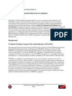 Instructors Training Curriculum Guide to Explosive Bombing Scene Investigation