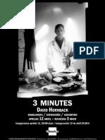 """""""3 minutes"""" de David Hornback"""