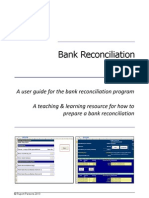 Bank Reconciliation Manual