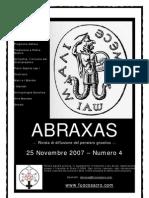 (eBook - Gnosticismo - ITA) - Www.fuocosacro.com - Rivista ABRAXAS - Numero 4