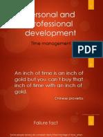 Personal and Professional Development presentation.