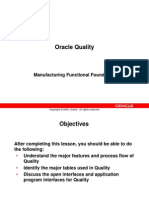 Oracle Quality