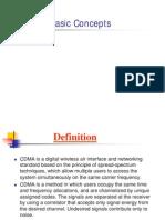 Cdma Basic Concepts