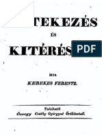 Kerekes Ferenc - Értekezés és Kitérések 1836.