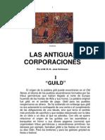 Jose Schlosser Las Antiguas Corporaciones