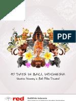 Bali Ittinerary