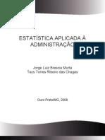 Apostila Estatistica - Autor CEADUFOP