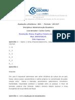AD1 - Adm Brasileira - Carlos Cunha -2013-1 Resposta