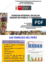 Atencion Integral de Salud MINSA 2011