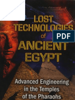 Lost Technologies of Ancient Egypt - By Christopher Dunn