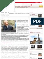 Mediator Rapport Qui Accuse Servier