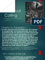 Effectual Calling - 1689 Chapter 10 - 04142013