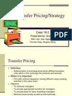 Transfer Pricing Technique