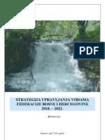 Strategija Voda Federacije BiH