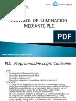 Control de Iluminacion Mediante Plc