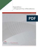 CVI Brookhaven Feasibility Study