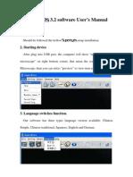 SUPEREYES 3.2 software User's Manual