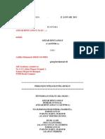 Panduan / Contoh Agreement Pelaburan