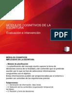 MÓDULOS COGNITIVOS DE LA ESCRITURA Y DIFICULTADES