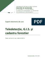 Teledetectie, Gis Si Cadastru Forestier Usv