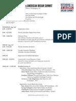 2012 Summit Agenda