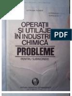 Carte Operatii Si Utilaje in Industria Chimica