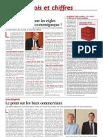 Article La Tribune 23 Novembre 2012 _ compte-rendu de la 8ème matinée d'information-débat organisée par AvEC le 16 novembre 2012_ Les enjeux du bail commercial