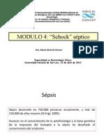 MODULO 4, Shock Septico Dra. Silvia Di Genaro