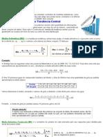 Matematica _ Medidas Estatísticas