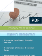 Treasury Management in a Corporate
