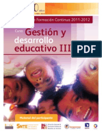 GDEIII Material Del Participante