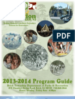 2013 - 2014 Brick Township Department of Parks and Recreation Program Guide