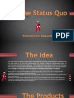 The Status Quo Elevator Pitch by Siyaduma Biniza.pptx