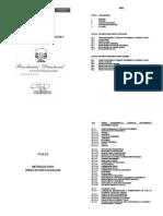 Partidas Para Obras de Edificaciones-rd_2010_073_dnc n.t. Metrados