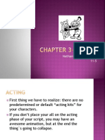 Chapter 3- Acting -Ll