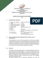 Silabo Practica Pre Profesional IV - 2012 02
