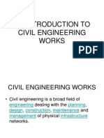 Introduction to Civil Engineering Works