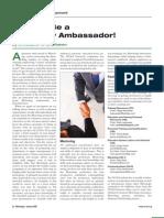 Metrology Ambassador