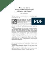Two-level Game - Robert Putnam