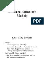 Reliability Models