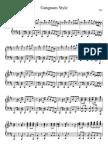 Gangnam Style - Psy - Piano Sheet Music wwwwwwi88888888888