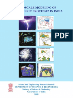 Mesoscale Modeling of Atmospheric Processes in India