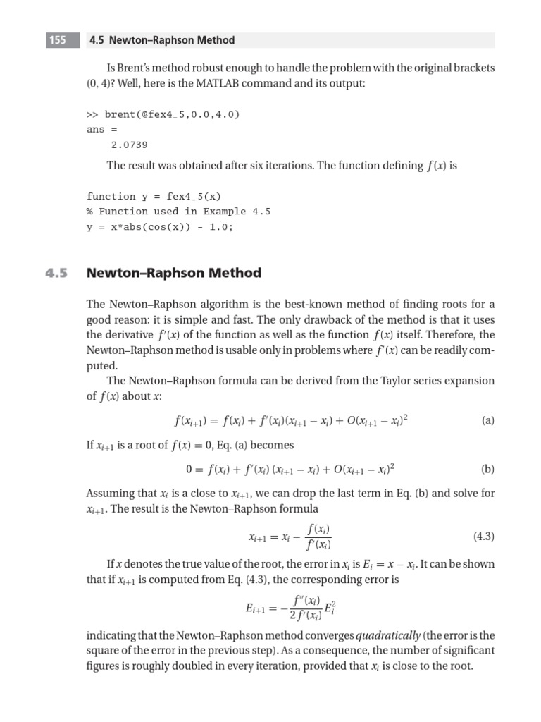 nonlinear 1 pdf | Equations | Mathematical Objects