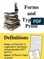 Forms and Types of Prose.ppt