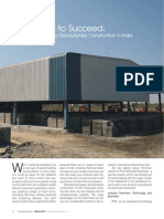 Article on 'Pre-Engineered Building (PEB) Industry in India' by Chaitanya Raj Goyal