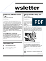 Newsletter Wizard.doc