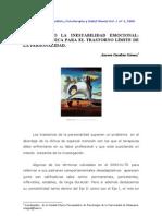 Combatiendo la inestabilidad emocional. Terapia icónica para el trastorno límite de la personalidad - Gardeta, A.