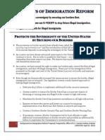 Short Summary of Immigration Reform