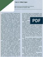La Perspectiva Genealogica de La Historia. Santander Universidad de Cantabria, 2006.