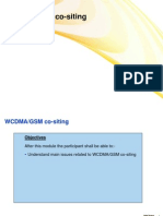 13. WCDMA-GSM Cositing